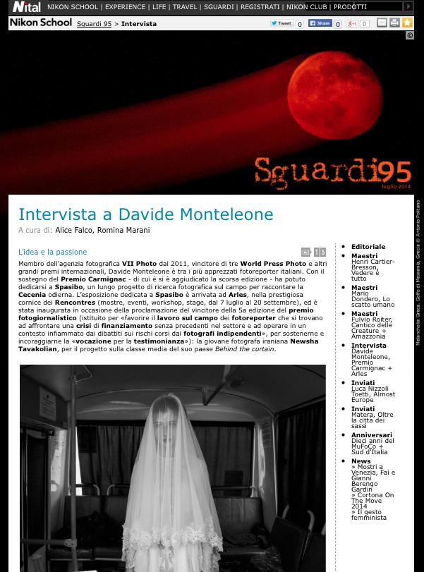 intervista davide monteleone